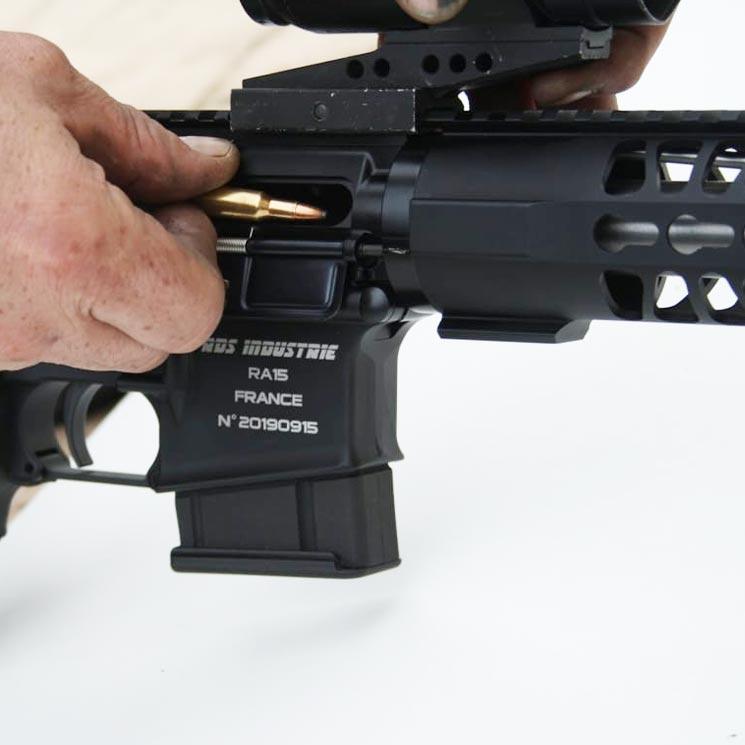 RA15 calibre 222 modifié par RDS Industrie