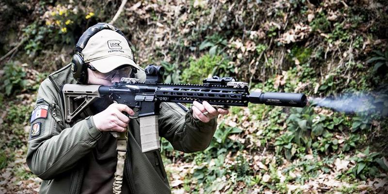 RA15C-RDS en action de tir