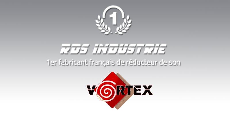 Rds Industrie 1er fabricant Français des silencieux Vortex