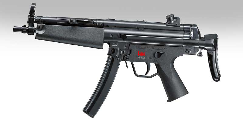 MP5 équipé avec RDS Vortex