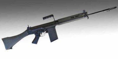 Fusil L1A1 est la version britannique du FN FAL en semi-automatique