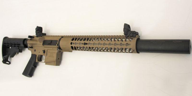 RA15 C 2+1 vue entière de l'arme Fabriquée par RDS Industrie